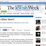 Jewish Weekly Article