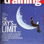 Training Magazine cover